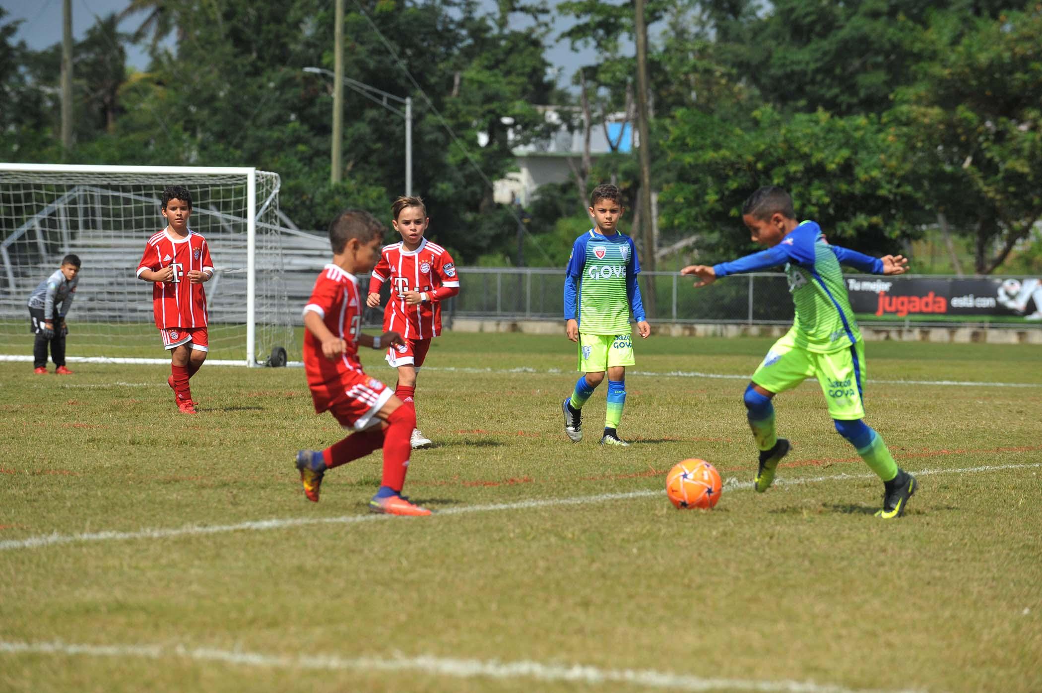 Repleta de Emociones la 8va Copa Ciudad Bayamón de Soccer