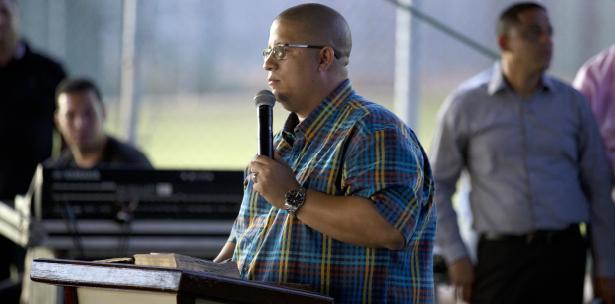 Hector Delgado premier en Carcel Bayamón