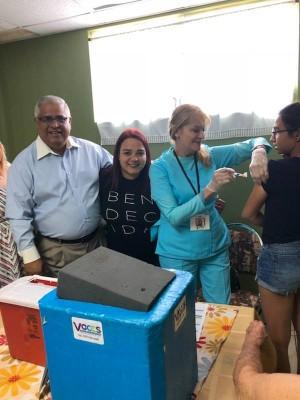Llevan a Cabo Vacunaciones en Iglesia de Bayamón