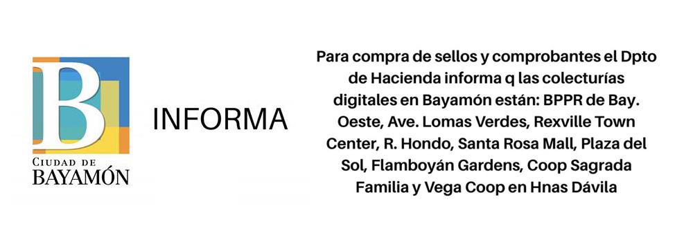 Hacienda informa que a partir del 1ro de mayo de 2018 las dependencias del Gobierno de Puerto Rico solo aceptarán Seelos y Comporbantes digitales emitidos por la Plataforma Colecturía Digital.