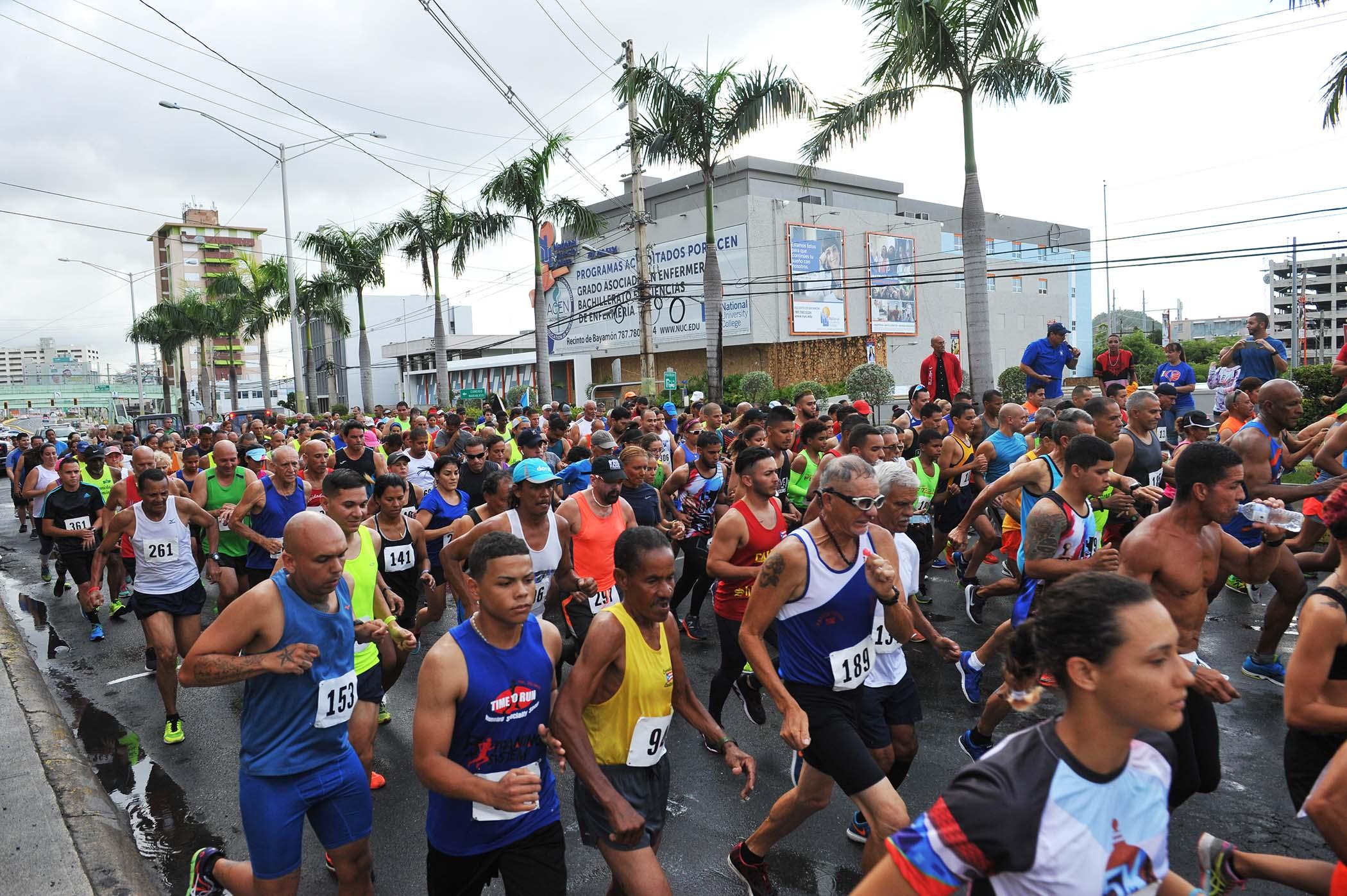 Salida-Maraton Santa Cruz
