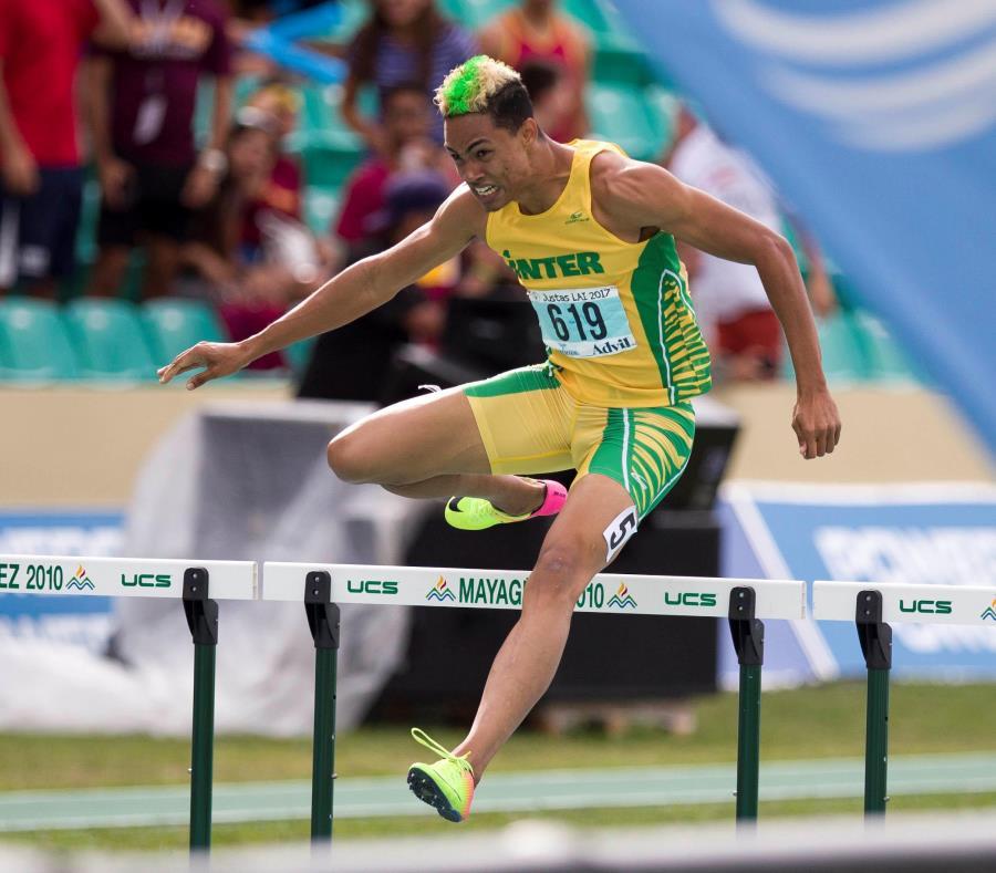 Juander Santos atleta bayamonés