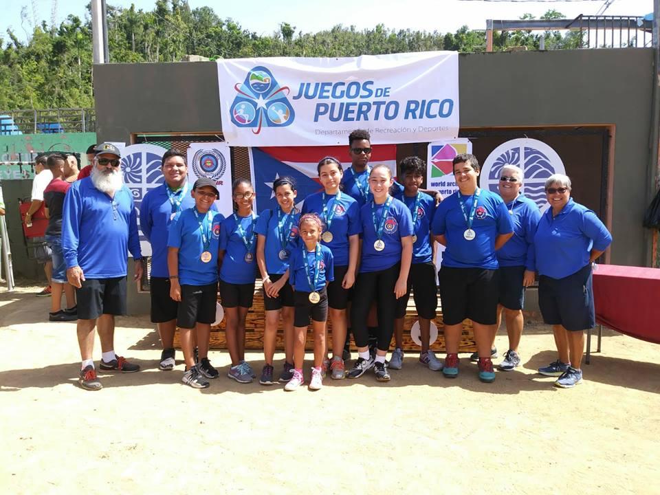 Escuela Vaquera de Tiro con Arco Logra 10 Medallas en los Juegos de Puerto Rico