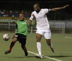 Waston en partido ante San Juan Jabloteh