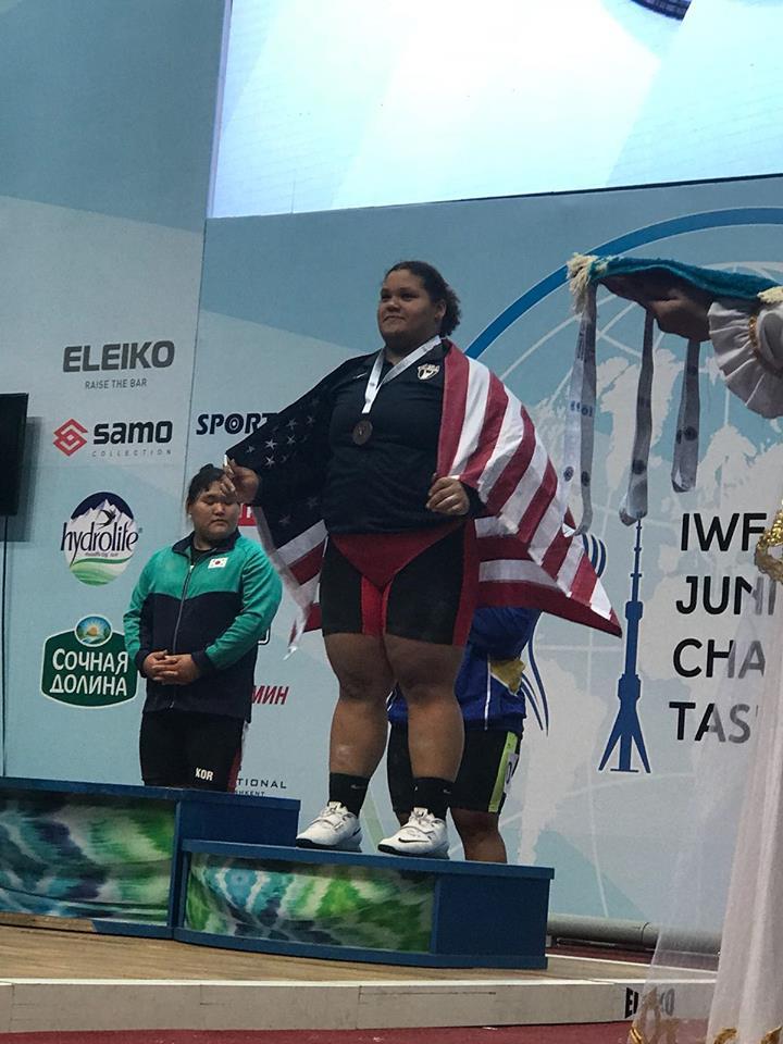 Ashmarie Benitez Logra Medalla de Oro y Bronce en Mundial Juvenil