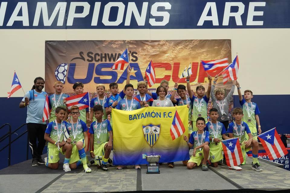 Bayamón FC added 3 new photos. 23 hrs · EXITOSA PARTICIPACION DE BAYAMON FC EN LA SCHWAN'S USA CUP