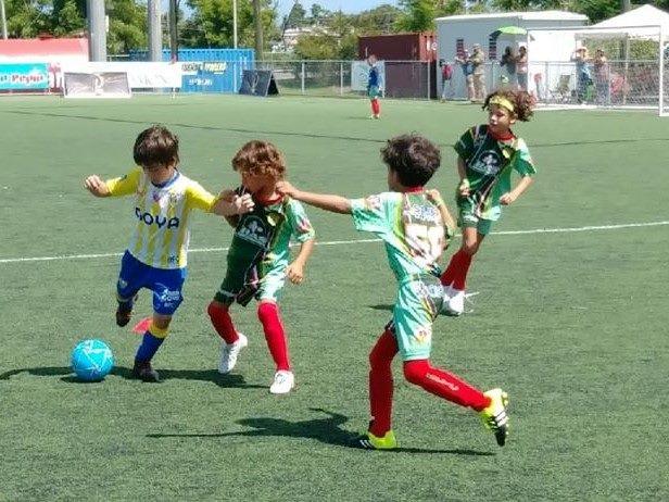Repleto de Atletas el Bayamon Soccer Complex