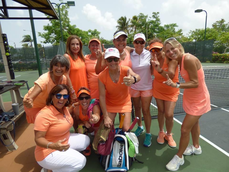 Campeonas Liga 55+ categoria 8.0 femenino Baldrich de Vivian Purcell
