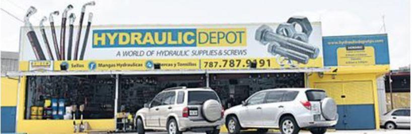 Hydraulic depot