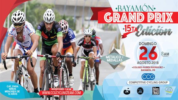 Bayamon Grand Prix el 26 de agosto de 2018 en el Coliseo Ruben Rodriguez