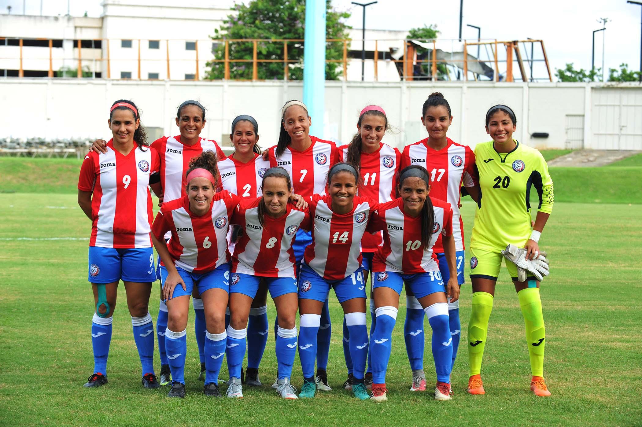 La Selección de Fútbol Femenino de Puerto Rico Finalizó con Empate el Partido ante Argentina en Bayamón