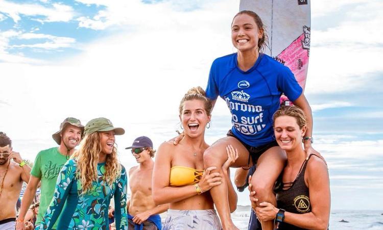 Tía Blanco bayamonesa repite en el Circuito Pro Surf