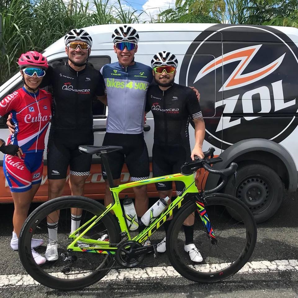 Primeros lugares CCG BAYAMON CYCLING SERIES