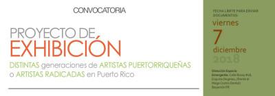 Convocatoria: Proyecto de Exhibición para Artistas Plásticas Mujeres