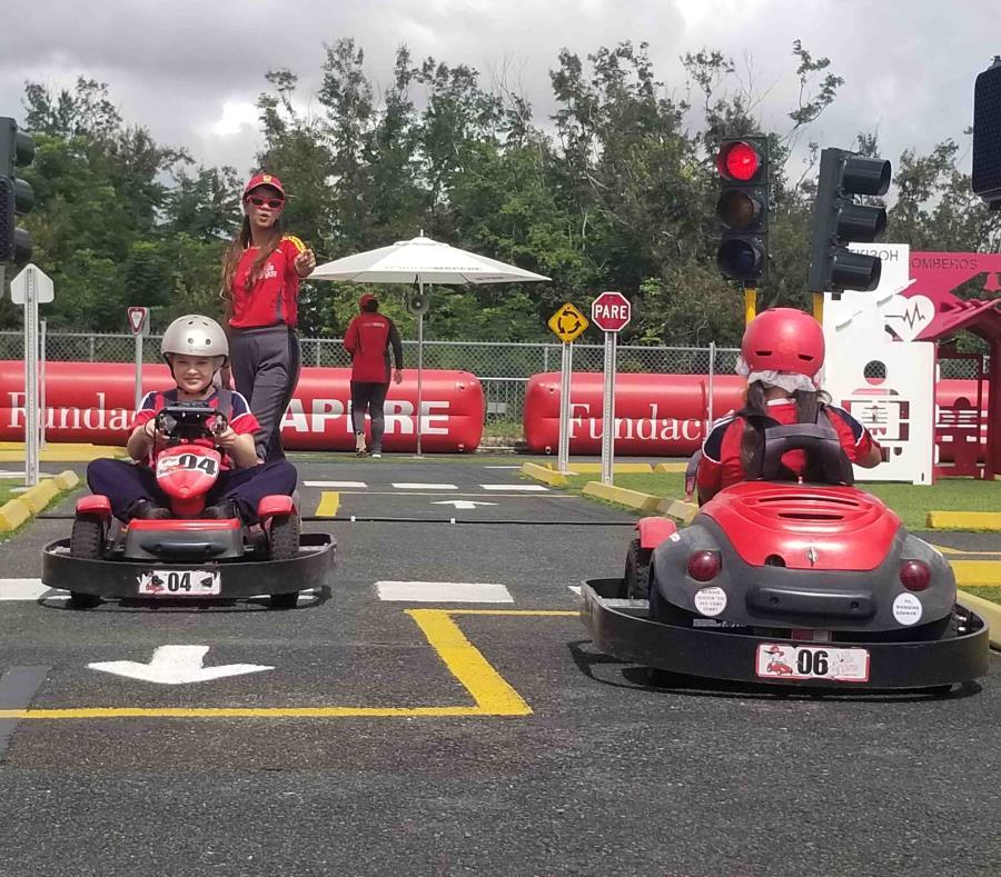UPR de Bayamón y Mapfre estrenan parque infantil para promover la seguridad en el tránsito