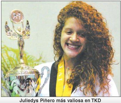 Bayamonesa Juliedys Piñero más Valiosa en TKD – LAI