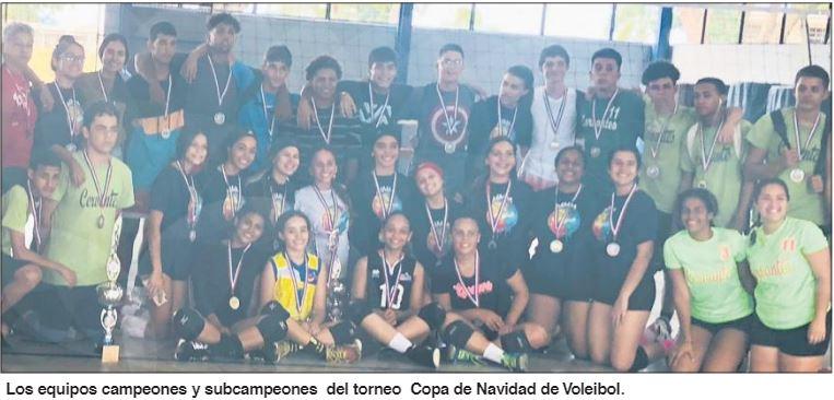 Cervantes y Tomás Ongay vencen en Copa Navideña
