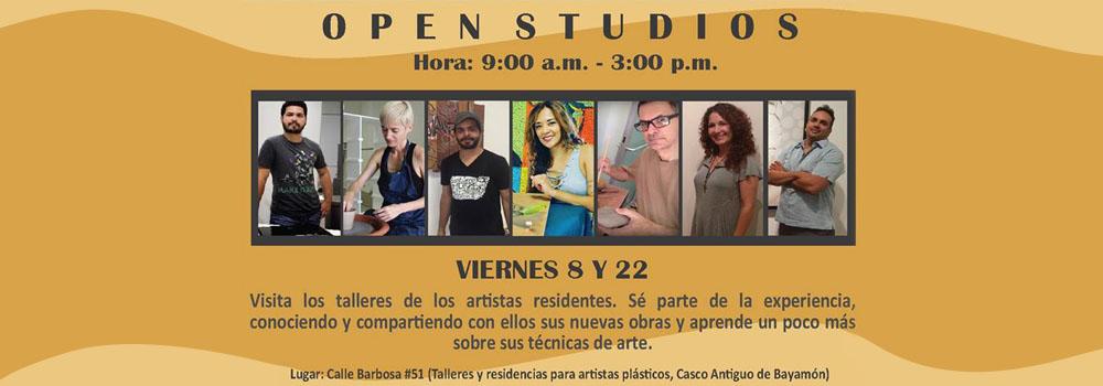 Open Studios Feb 8 y 22