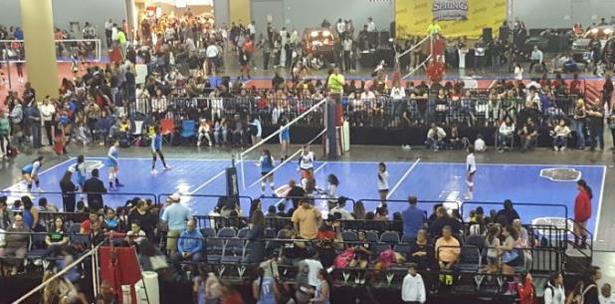 Club Vaqueras Dominó el Spring Volleyball Challenge