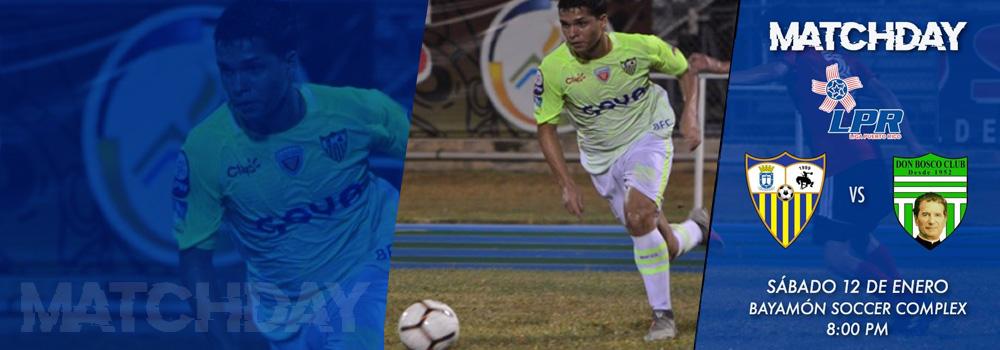 Matchday: Bayamon FC el 12 de enero a las 8pm en el Bayamón Soccer Complex