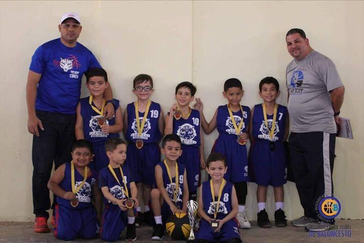 Quedan Campeones del Torneo el Equipo de la Liga de Baloncesto OCB