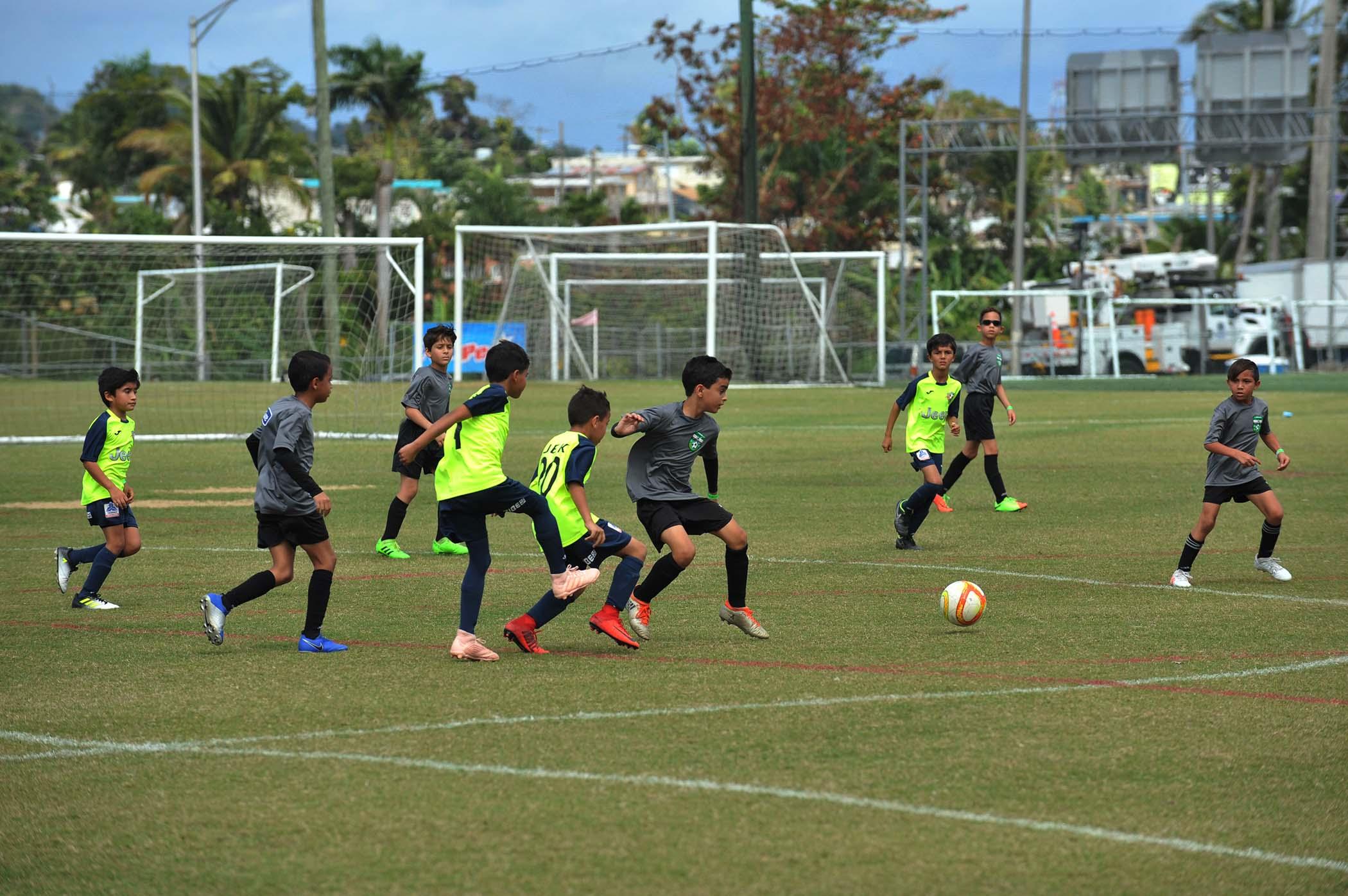 Juego en Bayamon Soccer Complex Copa Alcalde