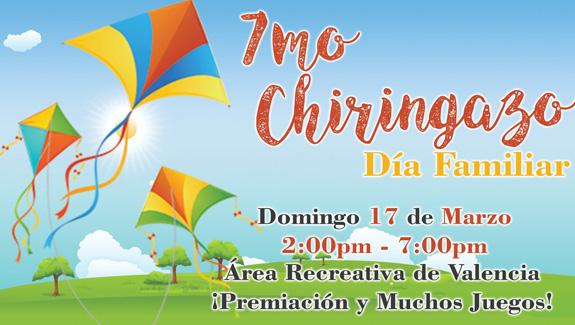 7mo Chiringazo el 17 de marzo de 2019 en el Area Recreativa de Valencia a las 2pm