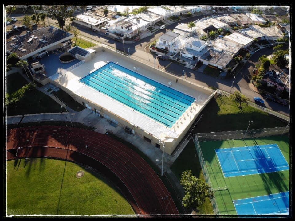 Piscina olímpica Calcaño Alicea