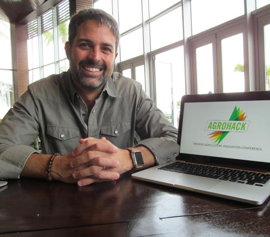Carlos Cobián, fundador de la productora Cobian Media y organizador del Agrohack. (GFR Media)