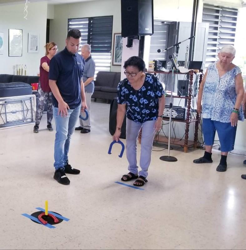 Líderes Recreativos Llevan los Goofy Games al Centro Remanso