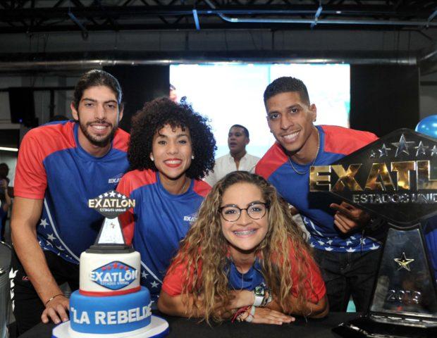 Fotos: Recibimiento de Valeria Rodríguez Pagán, Ganadora de Exaltlón
