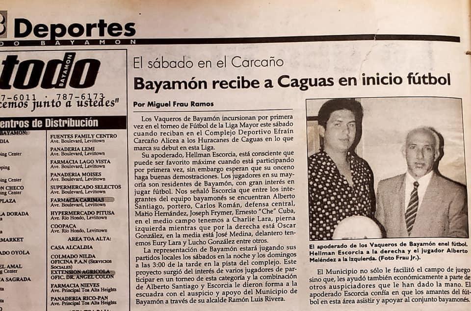 Primera Noticia de Bayamón FC