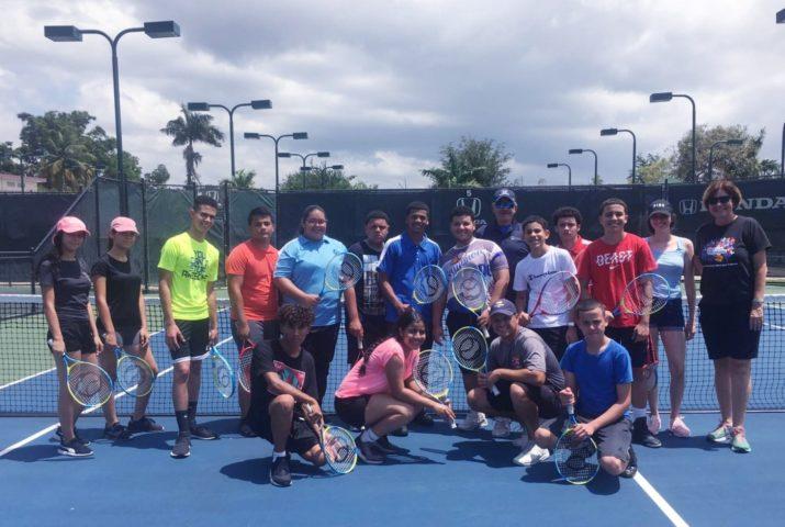 Taller de Tenis en Cancha