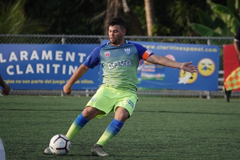 Carlos Rosario, jugador de Bayamon Futbol Club