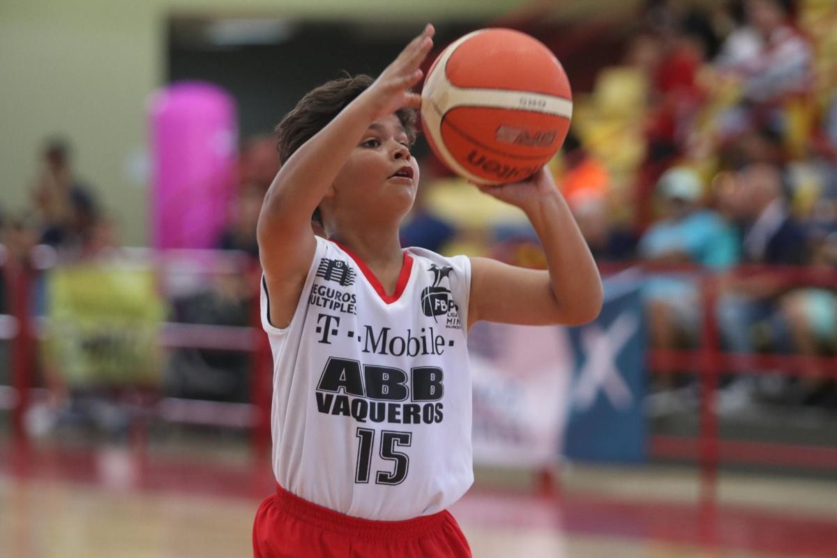 Bayamón ABB uno de los Conquistadores la Liga Mini de la Federación de Baloncesto de Puerto Rico