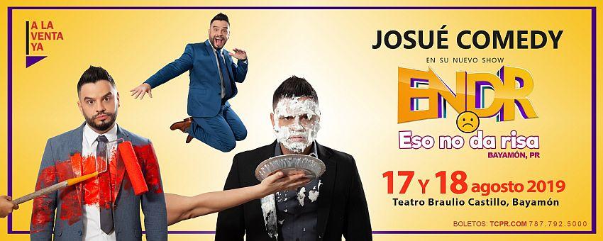 Eso no da Risa en el Teatro Braulio Castillo el 17 y 18 de agosto de 2019