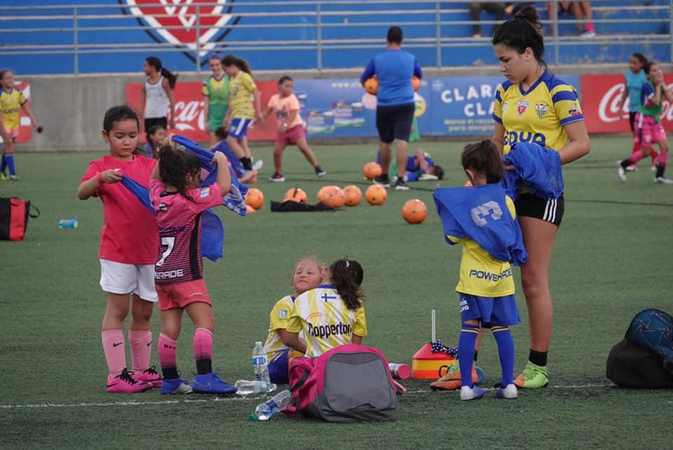 Bayamón FC Girls Performance Training