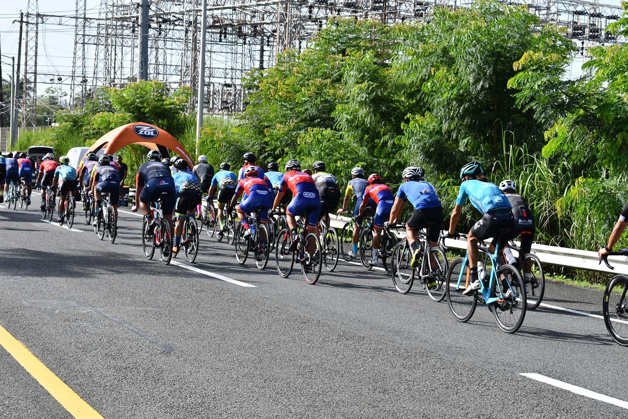 Participantes ciclismo