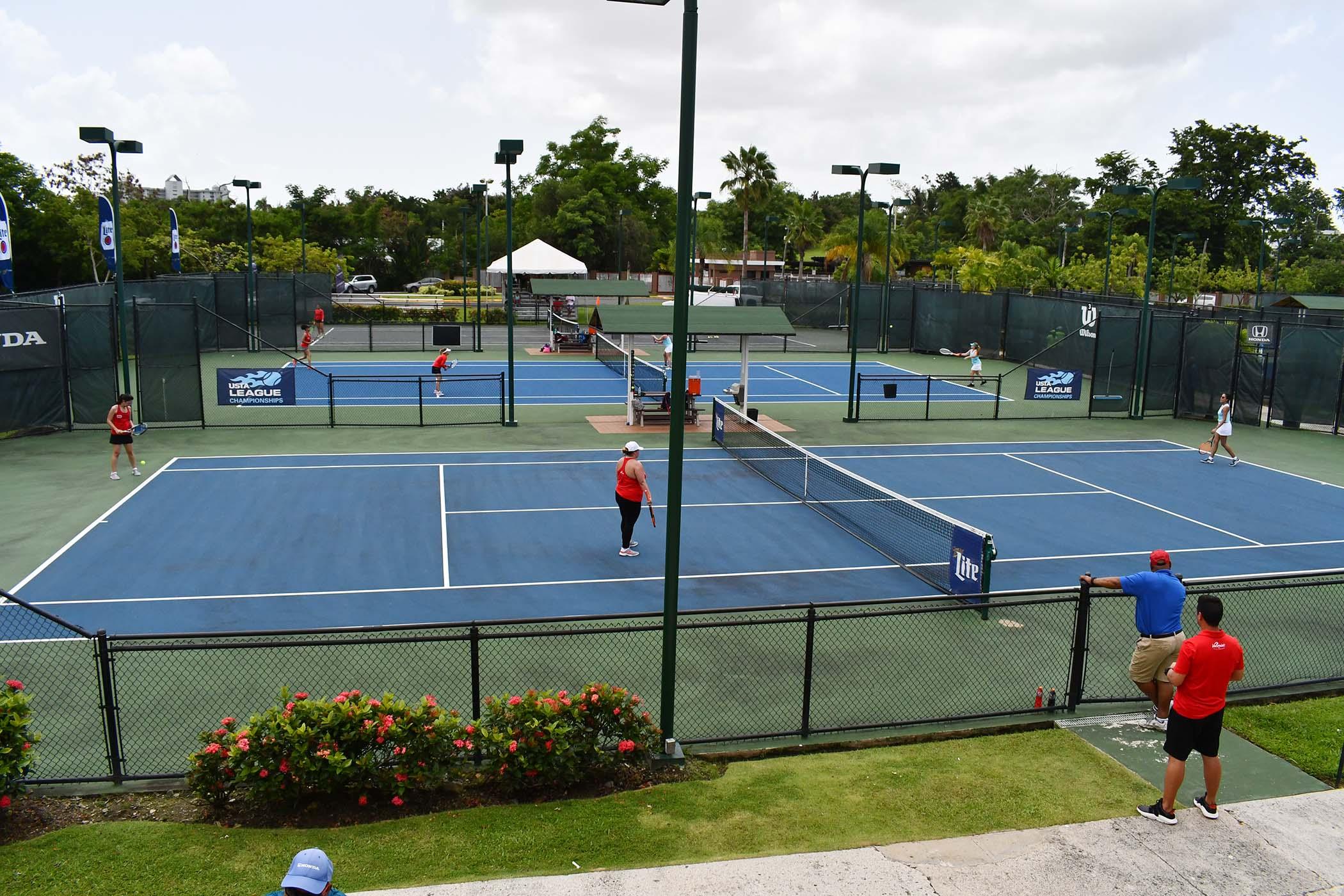 Semi Finales USTA Tenis