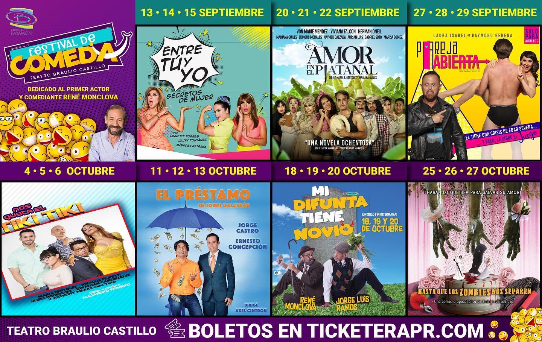 Festival de Comedia en el Teatro Braulio Castillo