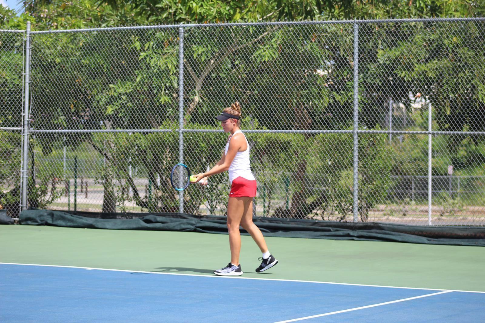 jugadora de tenis