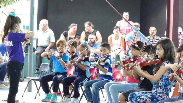 Buscan Impactar la Vida de Niños y Jóvenes a Través de la Música