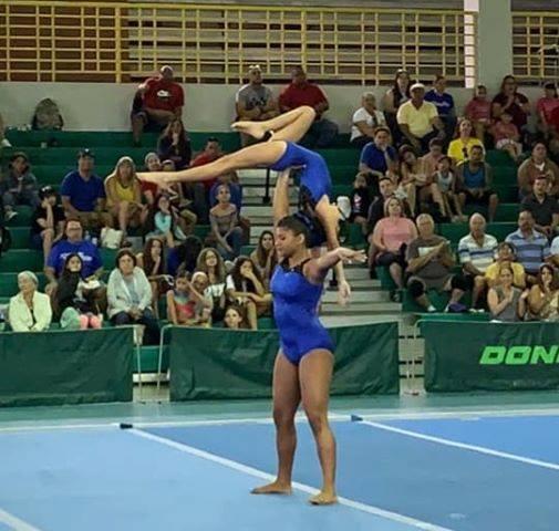 Seleccionadas al Equipo Nacional Duo de Gimnastas del Gimnasio Municipal de Bayamón