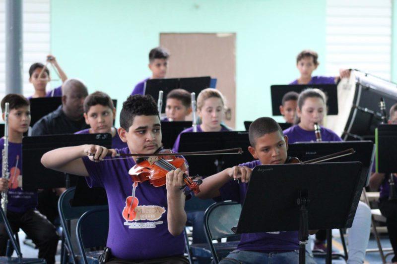 Segunda Serie de Conciertos del Programa Música 100x35 en Bayamón