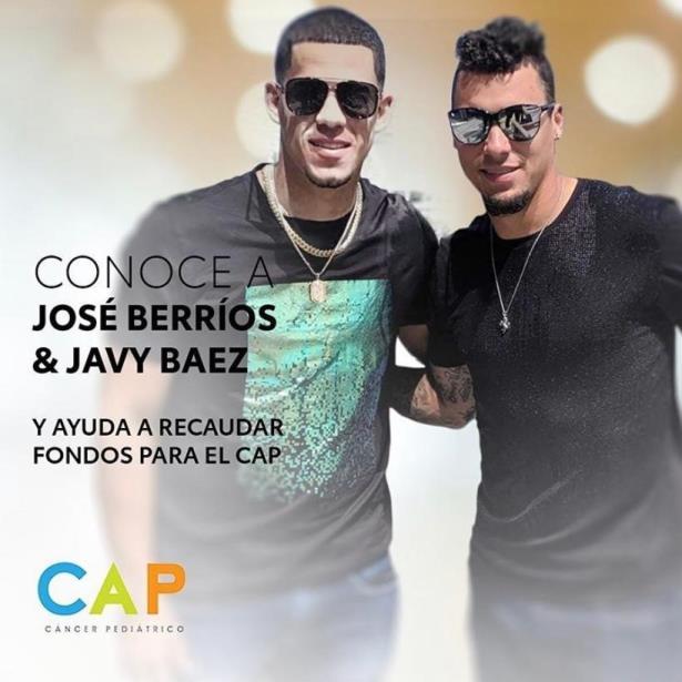 José Berríos y Javy Báez se Juntan por una Gran Causa