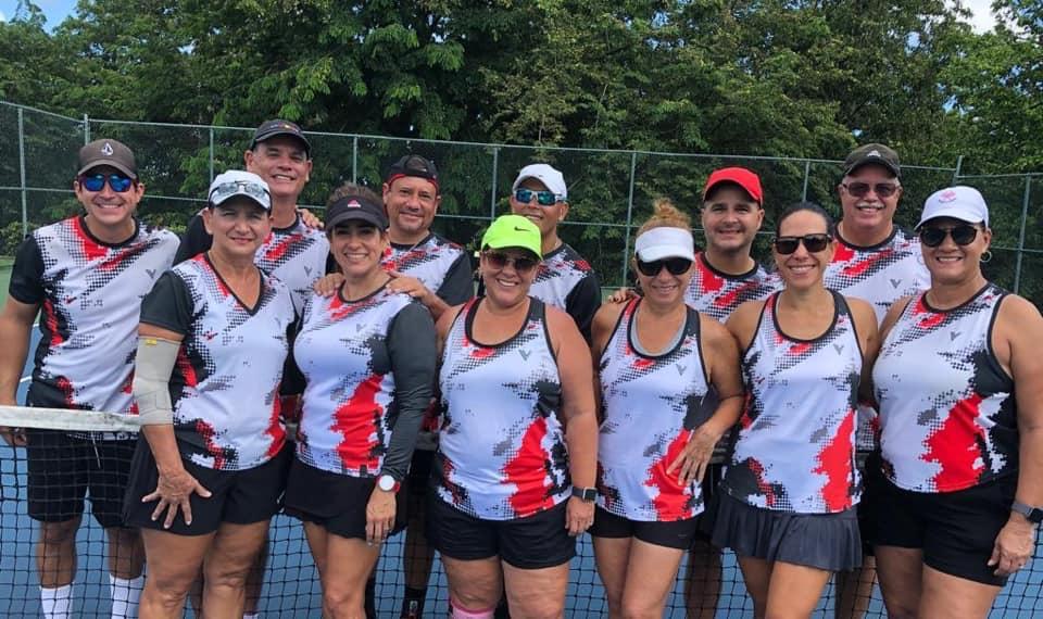Jugadores de Tenis