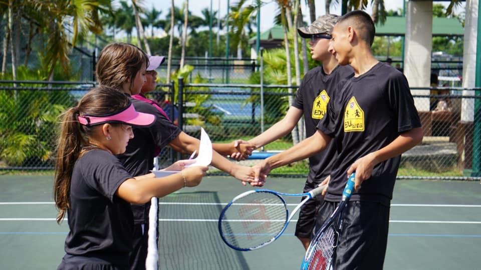 Cierre de Programa Edu Tenis en el Centro de Tenis Honda