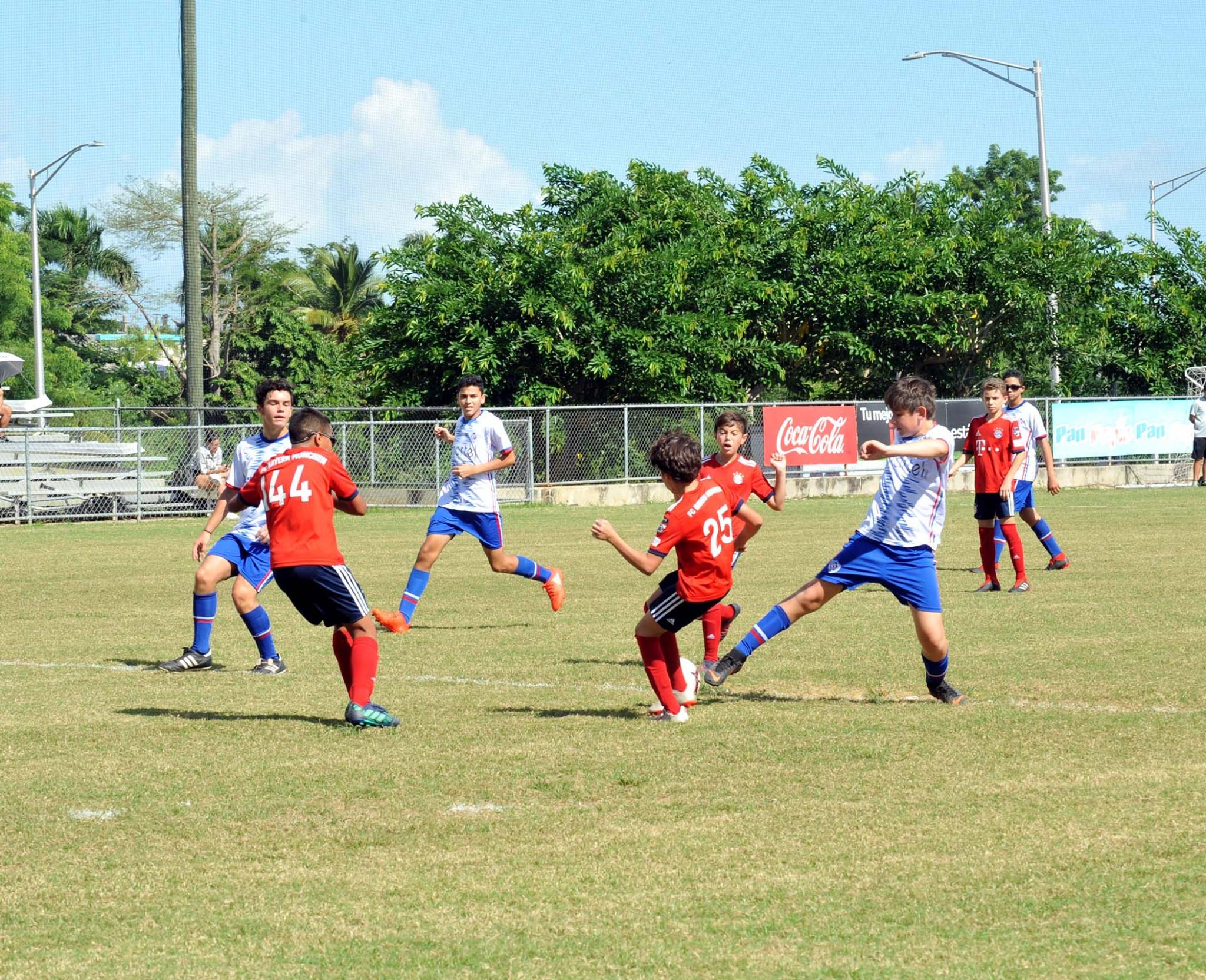 Ligas Infantiles y Juveniles se Dieron Cita en el Bayamón Soccer Complex