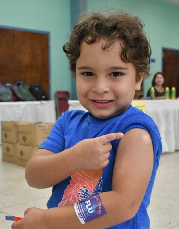Vacunación del Programa Head Start de Bayamón