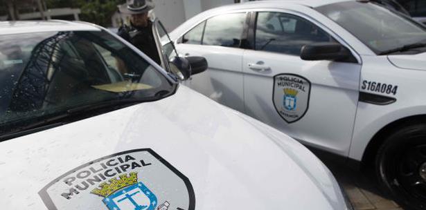 Vehículos oficiales de la Policía Municipal